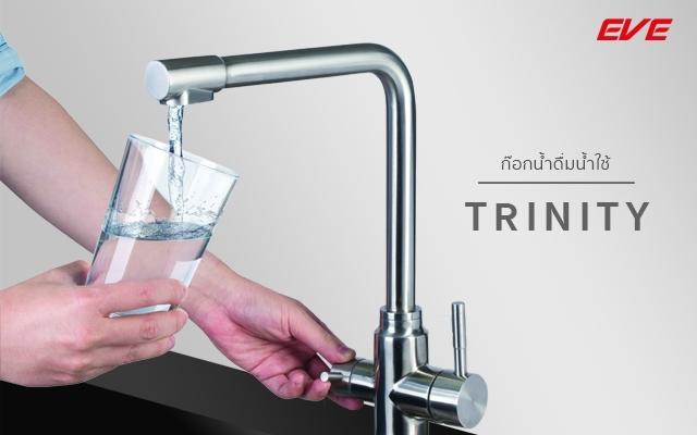 ก๊อกน้ำดื่มน้ำใช้ TRINITY อีฟ