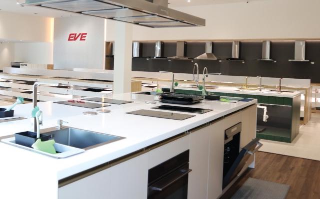 ไอเดียตกแต่งห้องครัว Kitchen studio โดย EVE