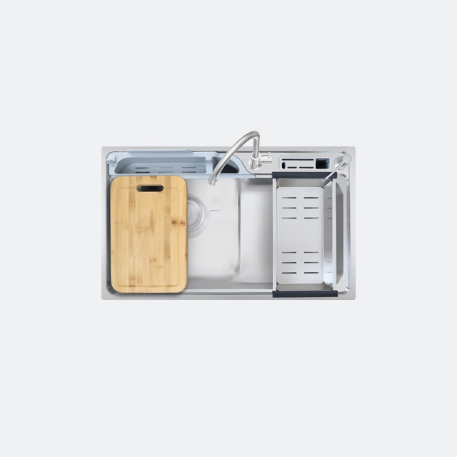 ซิงค์ล้างจาน 1 หลุม VISION 800/480