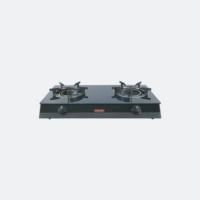 เตาแก๊ส 2 หัวเตา รุ่น GS70-1RR1IR/3DG (evercook)