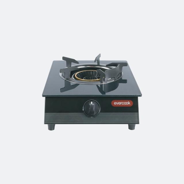 เตาแก๊สหัวเดียว เตาแก๊สตั้งโต๊ะ หัวเตาแก๊ส GS30-1RR/3DG (evercook)