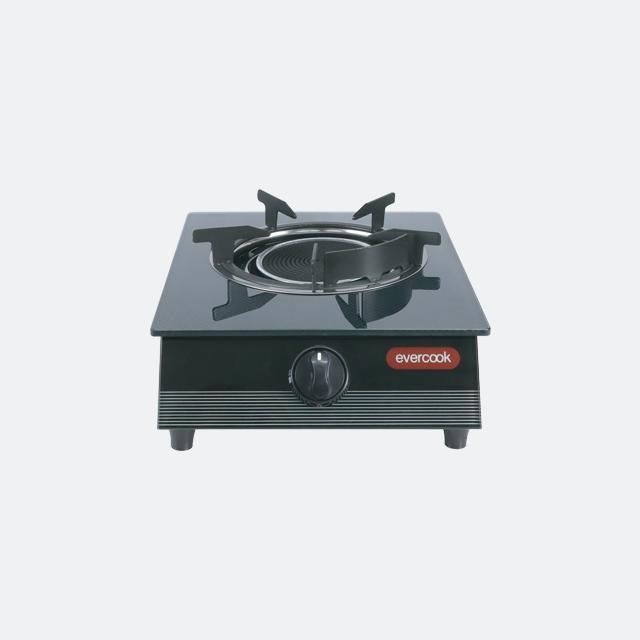เตาแก๊สหัวเดียว เตาแก๊สตั้งโต๊ะ เตาแก๊สอินฟาเรด GS30-1IR/3DG (evercook)