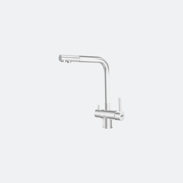 ก๊อกน้ำอ่างล้างจาน ก๊อกน้ำ 3 ทาง ก๊อกน้ำดื่มน้ำใช้ TRINITY
