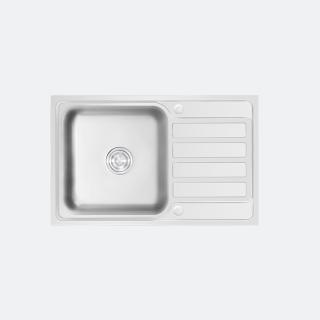 ซิงค์ล้างจาน 1 หลุม MEGAN 800/500