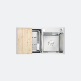 ซิงค์ล้างจาน 1 หลุม TOZEN 810/450