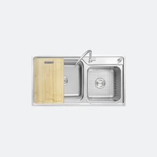 ซิงค์ล้างจานอเนกประสงค์ รุ่น LOTUS 850/460