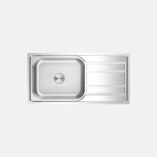 ซิงค์ล้างจาน 1 หลุม EGO 1000/500