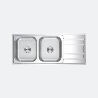 ซิงค์ล้างจาน 2 หลุม EGO 1200/500