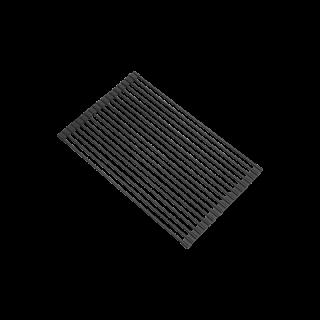 ตะแกรงสะเด็ดน้ำอเนกประสงค์สีดำ