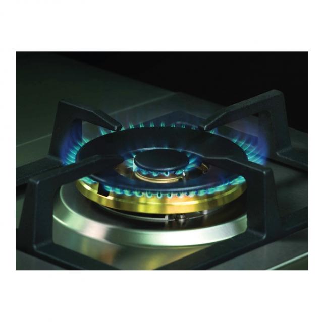 เตาแก๊ส 2 หัว แบบฝัง เตาแก๊สสแตนเลสหัวคู่ HB76-2TRDFD/MSI