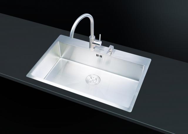 ซิงค์ล้างจาน 1 หลุม MIRACLE 760/510