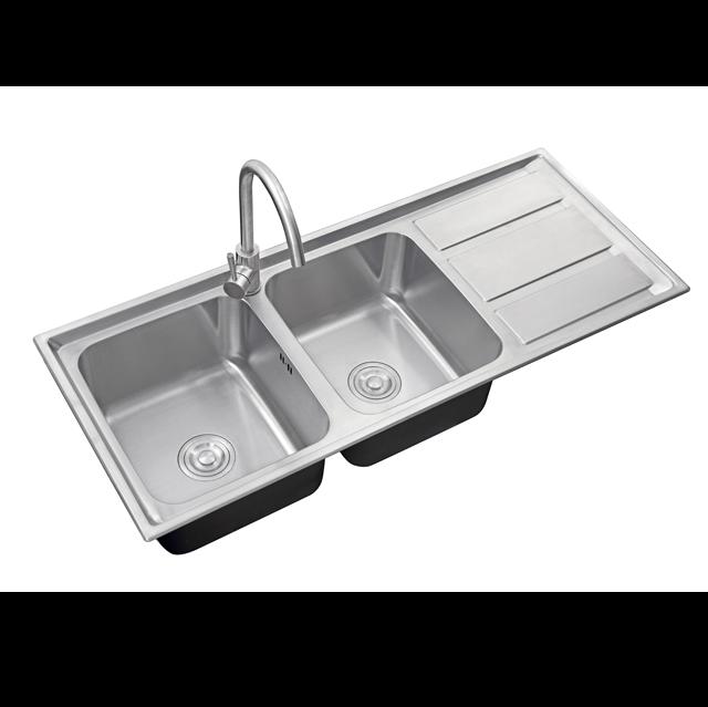 ซิงค์ล้างจาน 2 หลุม MEGAN 1200/500