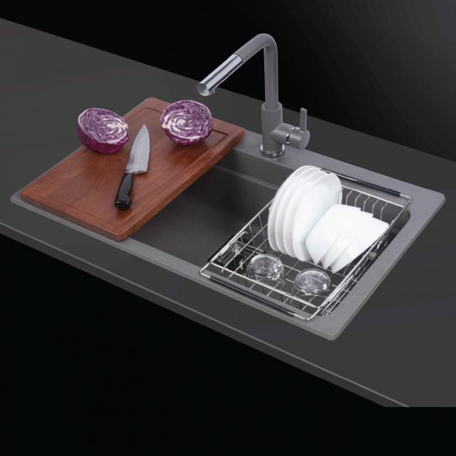 ก๊อกน้ำอ่างล้างจาน ก๊อกซิงค์ล้างจาน ก๊อกน้ำผสม LEXI GREY